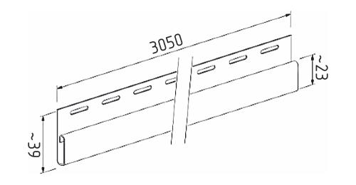 Финишная планка SV-14